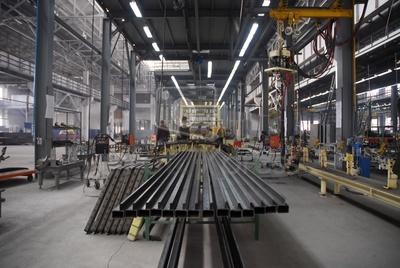 Planta de producción metalúrgica