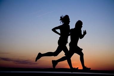 Runners en la noche