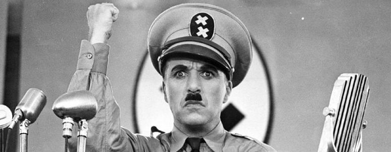 Charles Chaplin en su película 'El gran dictador' de 1940