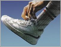 Unas zapatillas de los años 80