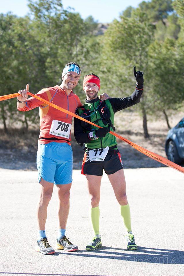 Alejandro y Sergio, vencedores de la prueba