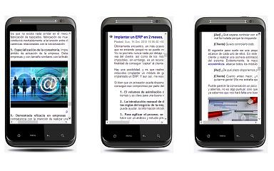 Imágenes app Mundo.erp | Tecnologías ERP en Google Play