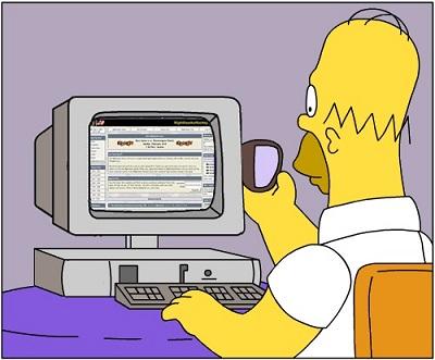 Homer Simpson, en sus nuevas funciones de CIO